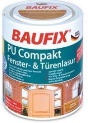 Baufix PU Compakt Fenster- & Türenlasur 1 l palisander