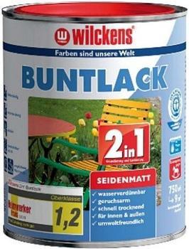 Wilckens 2in1 Buntlack seidenmatt 125 ml weiß