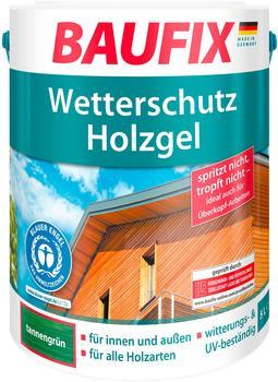 Baufix Wetterschutz-Holzgel 5 l tannengrün