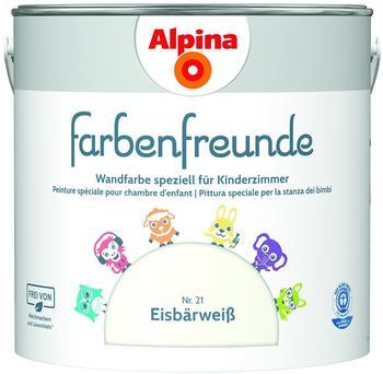 Alpina Farbenfreunde Nr.21 Eisbärweiß 2,5 L (914060)