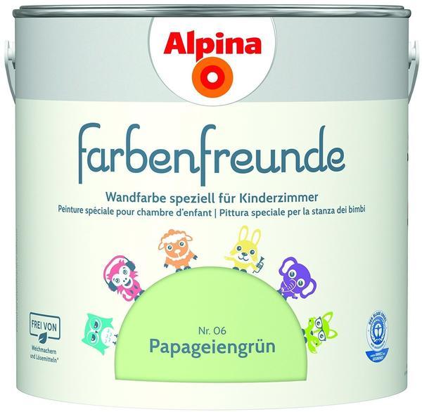 Alpina Farbenfreunde Nr.06 Papageiengrün 2,5 L (914046)