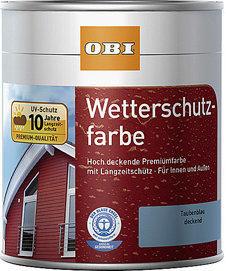 OBI Wetterschutzfarbe 2,5 l (verschd. Dekore)