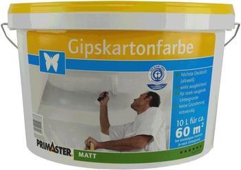 PRIMASTER Gipskartonfarbe 10 l weiss