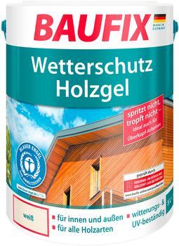 Baufix Wetterschutz-Holzgel 5 l weiß