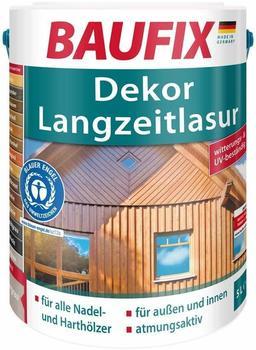 Baufix Dekor-Langzeitlasur 5 l mahagoni