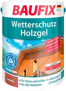 Baufix Wetterschutz-Holzgel 5 l kastanie
