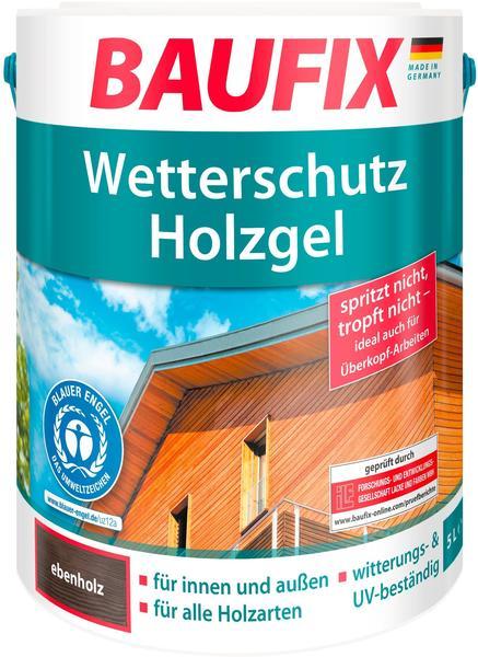 Baufix Wetterschutz-Holzgel 5 l ebenholz