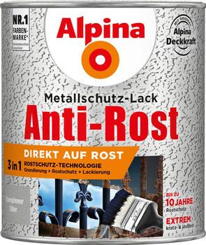 Alpina Anti-Rost Eisenglimmer 750 ml Silber