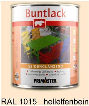 PRIMASTER Buntlack hellelfenbein seidenglänzend 750 ml