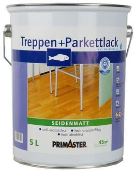 PRIMASTER Treppen- und Parkettlack 5 l seidenmatt