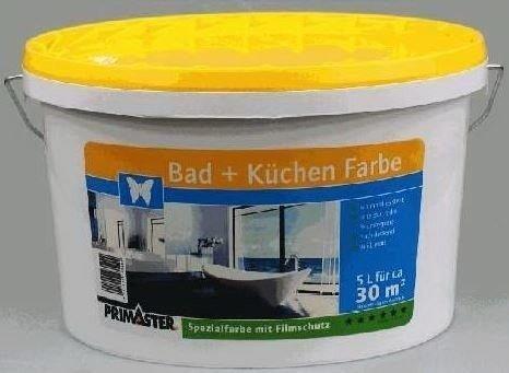 PRIMASTER Bad + Küchen Farbe 5 l