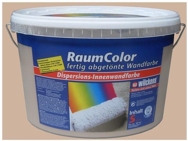 Wilckens Raumcolor Dispersions-Innenfarbe Cappuccino matt 5 l ( 10858854)