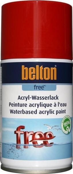 belton Free Acryl-Wasserlack Feuerrot hochglänzend, 250 ml