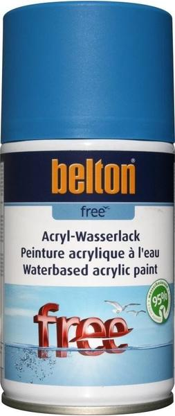 belton Free Acryl-Wasserlack Himmelblau matt 250 ml