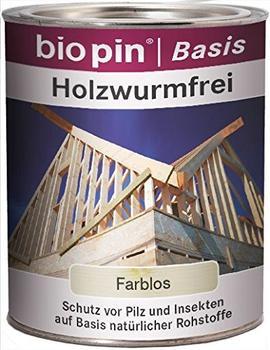 Biopin Holzwurmfrei Transprent 750 ml