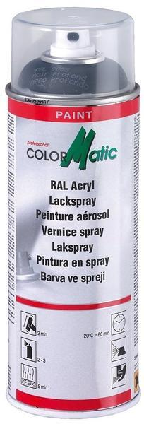 ColorMatic Lackspray RAL 9005 Tiefschwarz Seidenglänzend 400 ml