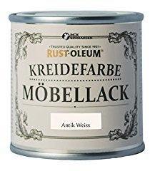RUST-OLEUM Möbellack Kreidefarbe Antikweiss Matt 125 ml