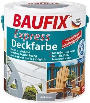 Baufix Express-Deckfarbe 2,5 l dunkelgrau