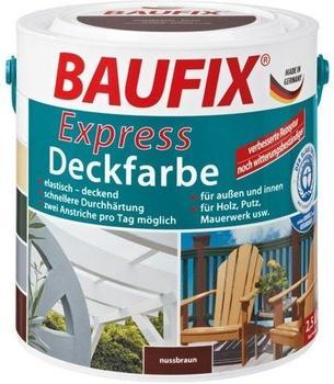 Baufix Express-Deckfarbe 2,5 l nussbraun