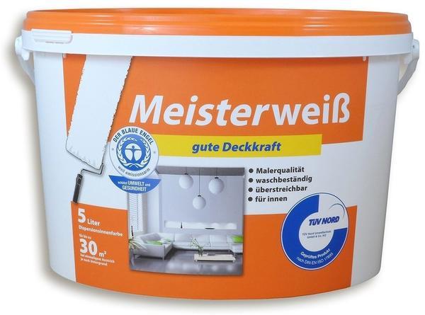 Wilckens Meisterweiß Wand & Decken matt 5 l