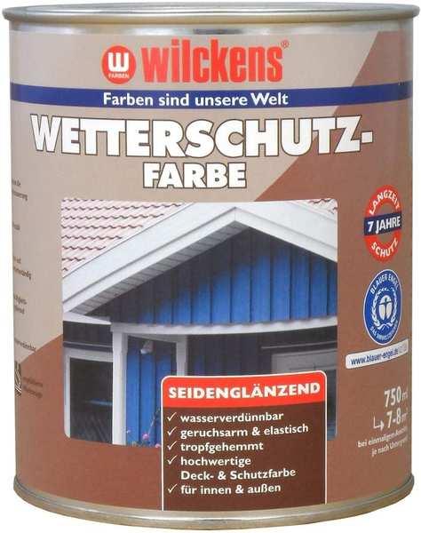 Wilckens Wetterschutzfarbe 750 ml Anthrazitgrau RAL 7016 seidenglänzend
