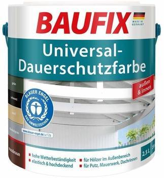 Baufix Universal-Dauerschutzfarbe 2,5 l dunkelgrau