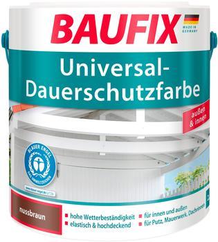 Baufix Universal-Dauerschutzfarbe 2,5 l nussbraun