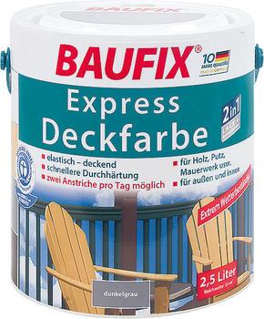 Baufix Express-Deckfarbe dunkelgrau 2,5 L