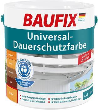 Baufix Universal-Dauerschutzfarbe 2,5 l weiß