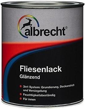 Albrecht AZ Fliesenlack weiß 0,75l