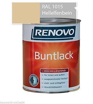 Renovo Buntlack hochglanz hellelfenbein 125 ml