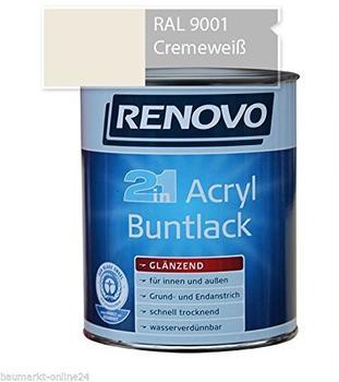 Renovo Acryl Buntlack Glanzlack 2 in 1 telemagenta 125 ml