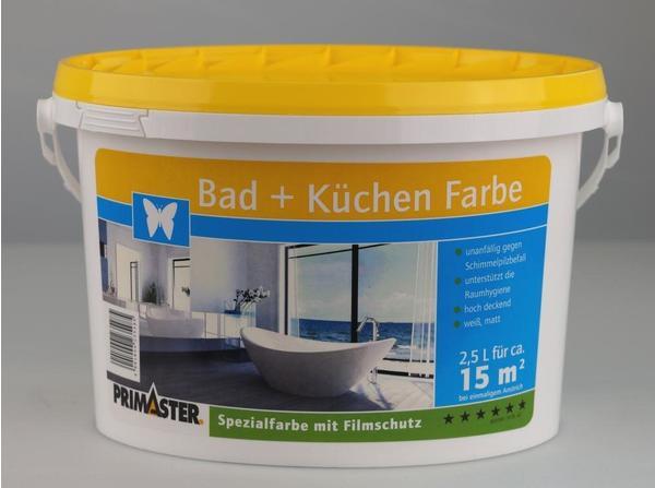 PRIMASTER Bad + Küchen Farbe 2.5 l ab 16,39 € günstig im ...