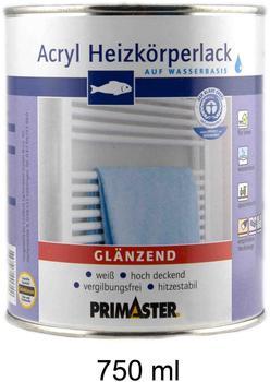 PRIMASTER Acryl Heizkörperlack glänzend 750 ml