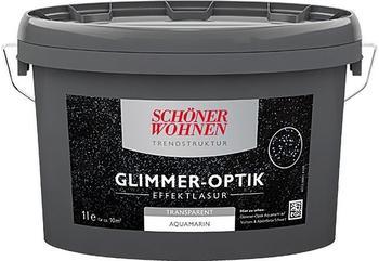 Schöner Wohnen Glimmer-Optik Effektlasur 1 l Aquamarin