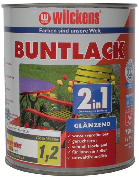 Wilckens Buntlack 2in1 glänzend 750 ml schokoladenbraun