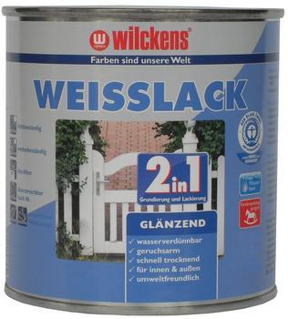 Wilckens Weisslack 2in1 glänzend 750 ml