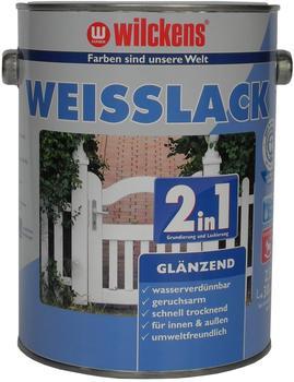 Wilckens Weißlack 2in1 glänzend 2,5 l