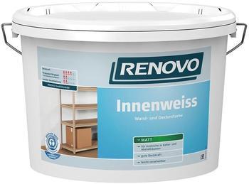 Renovo Innenfarbe weiß matt 10 l weiß