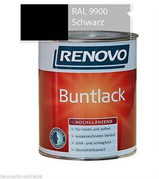 Renovo Buntlack hochglanz schwarz 125 ml