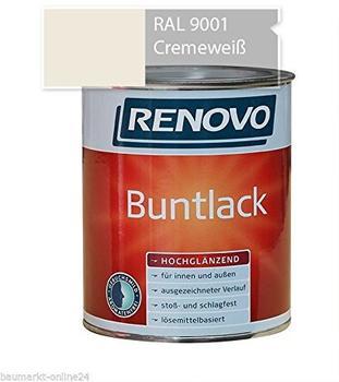 Renovo Buntlack hochglanz cremeweiss 125 ml