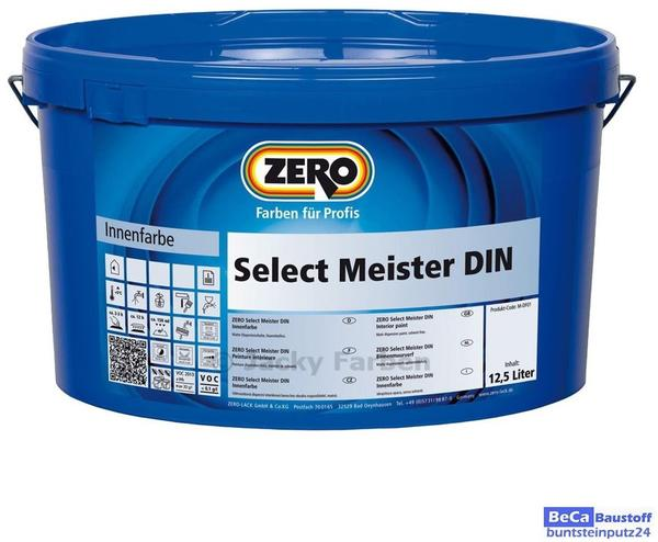 Zero Select Meister DIN weiß 12,5 l