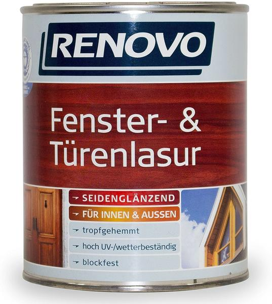 Renovo Fenster- und Türenlasur farblos 25 l transparent