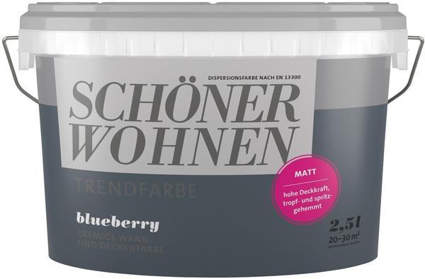 Schöner Wohnen Trendfarbe matt 2,5 l Blueberry