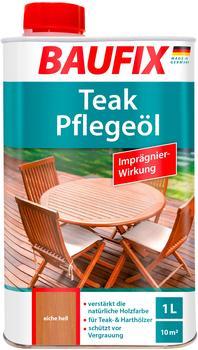 Baufix Teak-Pflegeöl eiche hell 1 Liter