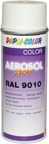 Dupli-Color Aerosol-Art RAL 9010 matt 400 ml
