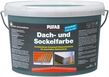 PUFAS Dach- und Sockelfarbe 5 Liter