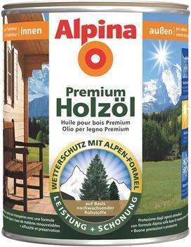 Alpina Lasur Premium Holzöl Teak 2,5 l