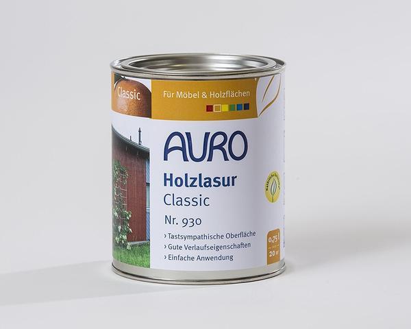 auro classic ocker gelb 0 75 liter test weitere auro farben lacke bei. Black Bedroom Furniture Sets. Home Design Ideas