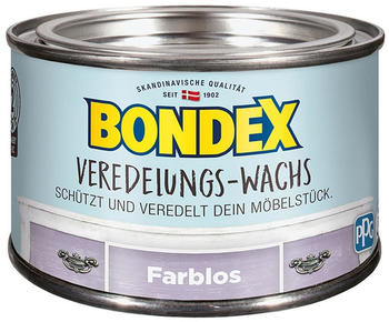 Bondex Veredelungs-Wachs Transparent 0,25 L